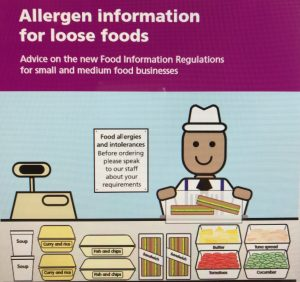 Advice on the new Food information Regulations for small and medium food businesses